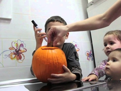 Tutorial Calabaza de Halloween Pumpkin Patch