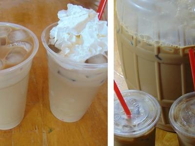 Cafe Helado |Agua Fresca de Cafe para Fiestas!!! Para Negocio!!!