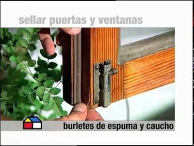 ¿Cómo elegir burletes para ventanas y puertas?