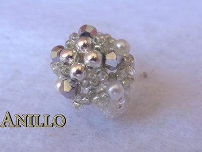 # DIY -  Anillo de perlas y tupis # DIY - Ring of pearls and tupis
