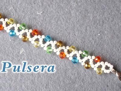 # DIY  - Pulsera multi colori # DIY Multi colori bracelet