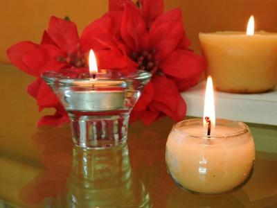 ¡Como hacer velas!. How to make candles!
