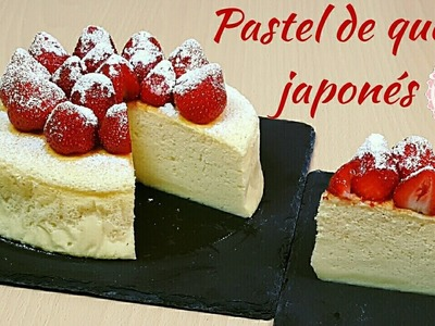 Pastel de queso japonés | Japanese cotton cheesecake | Mi tarta preferida