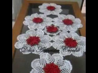 Tapete de mesa tejidas
