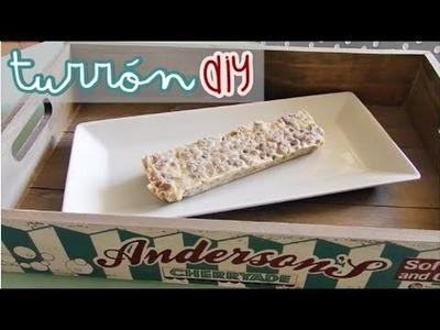 ☃ Turrón de Chocolate Blanco ¡En casa! | DIY - Laia Martín