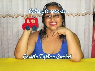 CARRITO TEJIDO A CROCHET - APLICATIVO