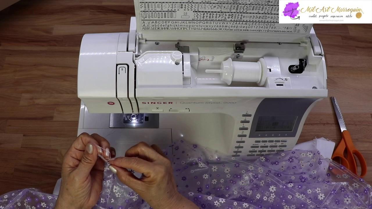 Como Coser la tela a la Blusa o Corpiño Crochet