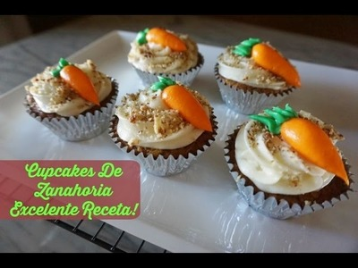 Como Hacer Cupcakes De Zanahoria+Celebración Dia Del Niño