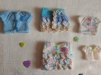 Crochet souvenir para baby shower o bautizo parte #2