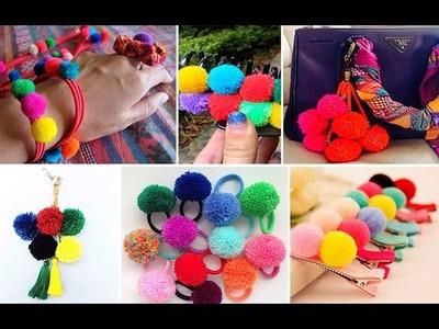 30 ideas con pompones de lana