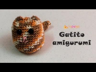 Amigurumi gatito -Crochelines- súper fácil