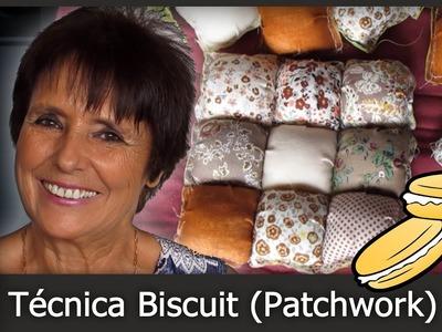 Cómo hacer la Técnica Biscuit (Patchwork) [Tutorial]