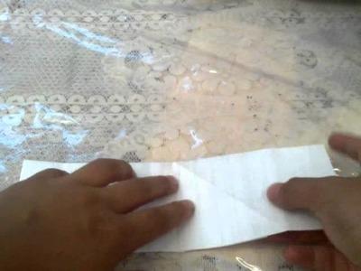 Cómo hacer pieza de origami 3D