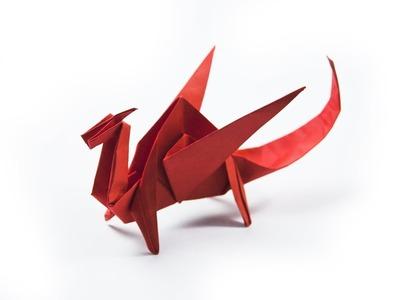 Como hacer un dragón de papel | origami