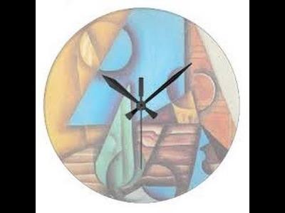 Como hacer un Reloj de Madera - Hogar Tv por Juan Gonzalo Angel
