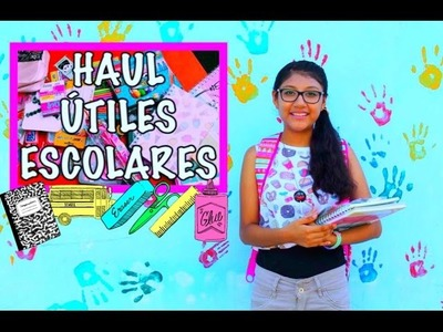 ♡ HAUL REGRESO A CLASES - Back to School Supplies 2016 ♡