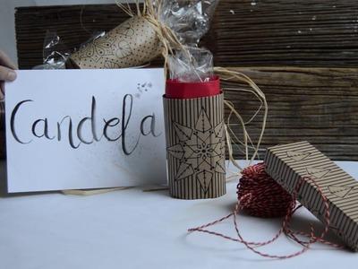 Ideas para hacer envoltorios para regalos con envases reciclados
