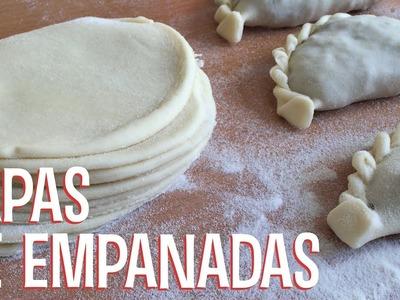 Masa para Tapa de Empanadas Fácil | Receta Casera | #CocinaViajera en Viena | Tenedor Libre