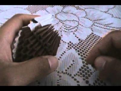 Mini búho de origami parte 3
