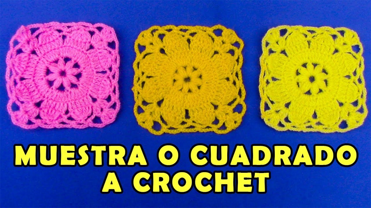 Motivos o pastillas a crochet de flores para aplicar en blusas, ponchos, mantitas, chalecos
