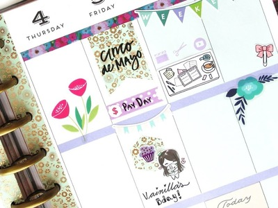 Planifica Conmigo! (Español) - NO Etsy kit: Mambi | The Happy Planner 2017