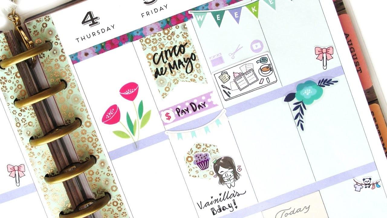Planifica Conmigo! (Español) - NO Etsy kit: Mambi | The Happy Planner 2017