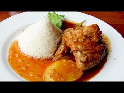 Pollo al Vino - Fácil y Rápido - Receta Secreta (comida peruana) Peruvian Dish
