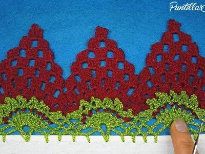 Puntilla 15 | Fresas o Uvas | Puntillas Maribel