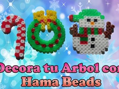 Adornos Navideños con Hama Beads