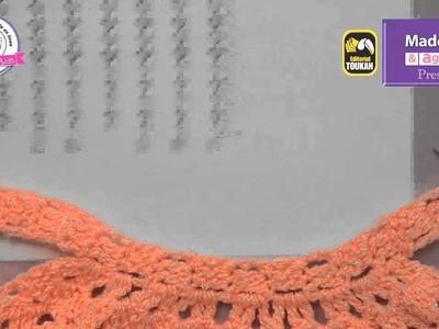 Aprende a tejer un Halter con piñas