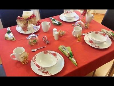 Cómo decorar la mesa navideña con limpiapipas | facilisimo.com
