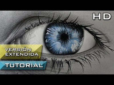 Cómo Dibujar un Ojo Realista con Lápices de Colores Paso a Paso - Versión Extendida - Tutorial Ojos