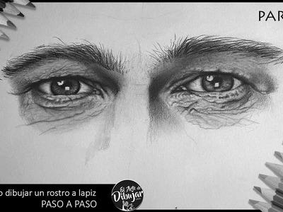 Como dibujar un retrato a lapiz PASO A PASO I Utilizando 3 LAPICES
