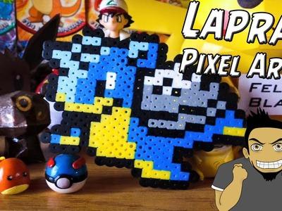 Como hacer a Lapras con Hama Beads (Lapras pixel Art) por FelipeBlast