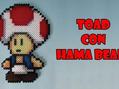 Como hacer a Toad con Hama beads