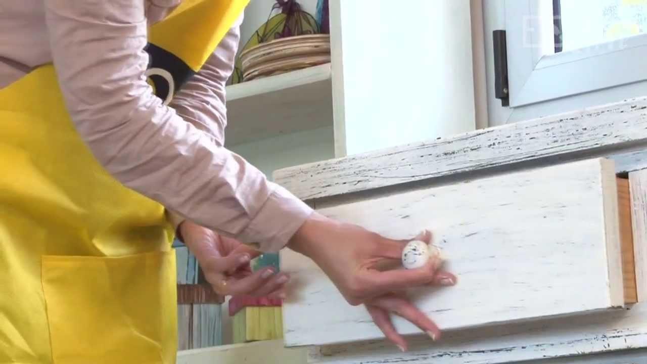 Como hacer decapado y teñido de mueble de pino? Eq Arte
