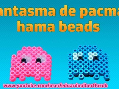 Como hacer fantasma de pacman con hama beads