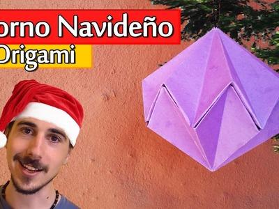 Cómo hacer un Adorno Navideño de Origami | Arte Track