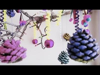 Como Hacer un Arbolito de Navidad con Ramas