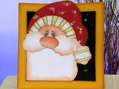 Como Hacer un Cuadro Decorativo Navideño en Foami - Hogar Tv  por Juan Gonzalo Angel