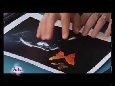 Cómo hacer una composición de arte Mixed  Media