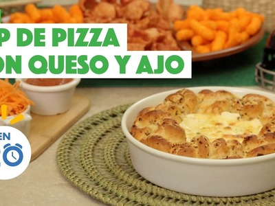 ¿Cómo preparar Dip de Pizza con Queso y Ajo? - Cocina Fresca