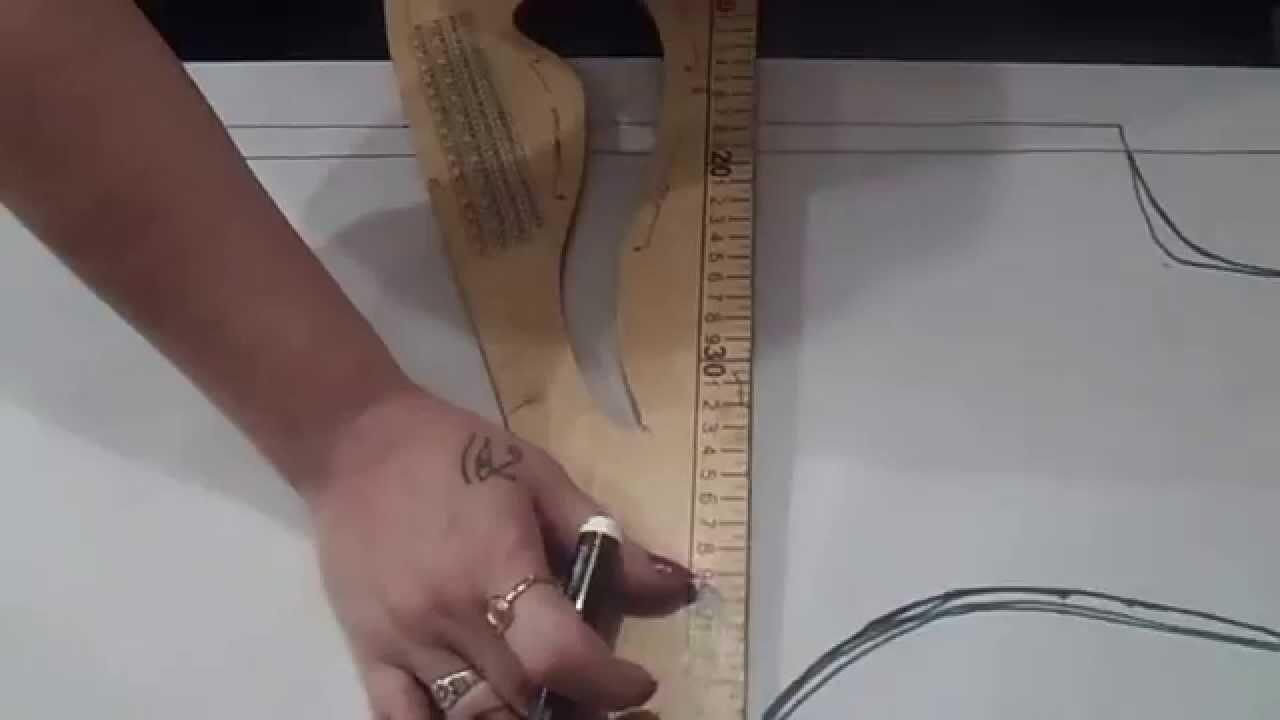 Como transformar el patron base para hacer la camisa de hombre