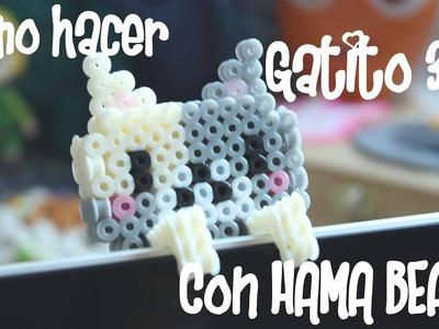 #ComoHacer: Gatito 3D HAMA BEADS
