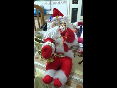 Creación papanoeles y muñecos navideños 2015
