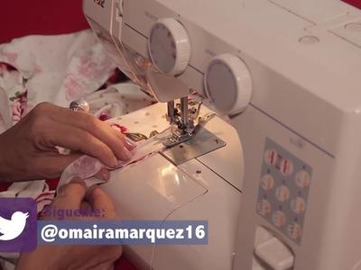 DIY Vestido Cruzado en el Busto- Omaira Tv