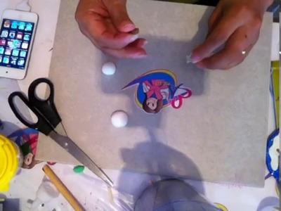Esfera transparente con muñeco de nieve (video 2 para participar del sorteo)