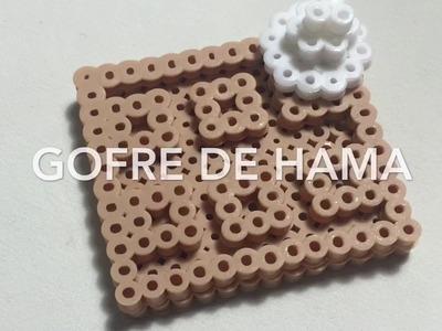 Gofre de hama beads 3d tutorial