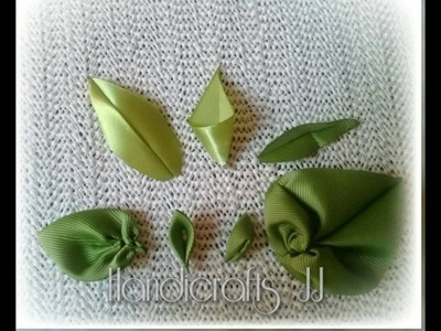 Hojas de listón. sleeves. листья