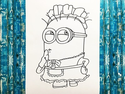 How to Draw a Minion (Despicable Me)